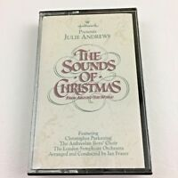 Sounds Of Christmas Holiday Music Cassette Julie Andrews Hallmark 1990