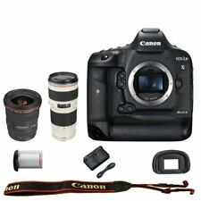 Canon EOS 1DX mark II DSLR Camera Body EF 17-40mm f/4L USM Lens + 70-200mm f/4L