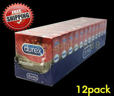 12 Durex Fetherlite Review Condoms Smooth Skin with Lubricated 52.5mm Female MAN