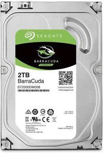 "Seagate BarraCuda 2TB 7200RPM SATA III 3.5"" Internal Hard Drive (ST2000DM008)"