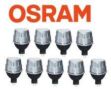 9x Ampoules (Lampes) Osram Led domestique Spot Mr16 12v 10w 3000k Blanc Chaud