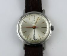 KOSMOS POLJOT STAINLESS STEEL 29 JEWELS AUTOMATIC SOVIET MECHANICAL WATCH!! RARE
