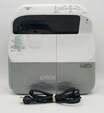 Epson PowerLite 480 3000-Lumen XGA Ultra-Short Throw 3LCD Projector