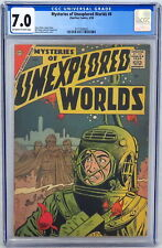Charlton Comics Mysteries Unexplored Worlds #8 CGC 7.0 Steve Ditko Colan 1958