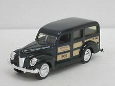 "FORD Woody STATION WAGON ""Norimberga Toy Fair 1991"" verde scuro, OVP, Ertl, 12 cm"
