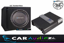 SOUNDSTREAM 38.1cm AUTO SUBWOOFER BOX con Porta amplificatore KIT CONFEZIONE