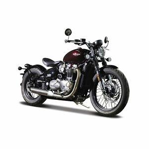 1:18 Scale Triumph Bonneville Bobber Model Motorbike Motorcycle Toy