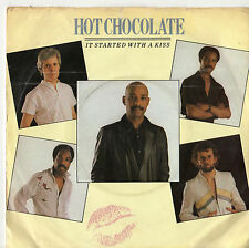 """Hot Chocolate - It Started With A Kiss 7"""" Single 1982"""
