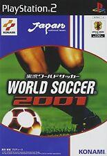 Used PS2 World Soccer 2001 KONAMI Import Japan