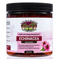 Echinacea angustifolia Root Powder Wild Crafted 8OZ - Protects Respiratory Tract