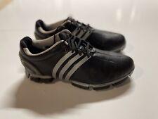 New listing Adidas Tour 360 3.0 Men's Size 9 Golf Shoes Black Leather 3D Fit foam
