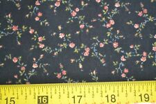 By-1/2-Yd, Calico on Black Quilting, Carolyn/Carolyn Collection/Kona Bay, B1090
