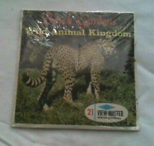 Busch Gardens Wild Animal Kingdom  View Master Packet  1960s