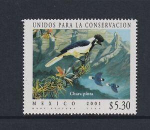 Mexico - 2001, Endangered Espèces, Tufté Jay Oiseau Tampon - MNH - Sg 2700