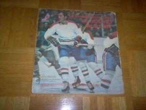 1972-73 Rare Eddie Sargent Hockey Stickers Complete Set in Album    49.99$