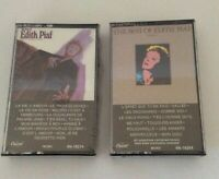 Vintage The Best of Edith Piaf Little Sparrow Volume II Capitol Records Cassette