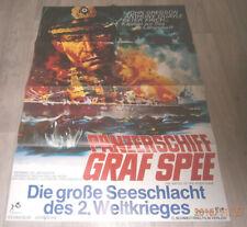 A1 Filmplakat PANZERSCHFF GRAF SPEE ,JOHN GRESON,ANTHONY QUAYLE