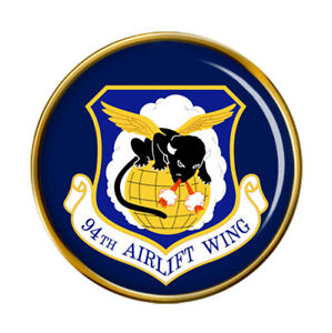 94th Airlift Ala USAF Pin Insignia