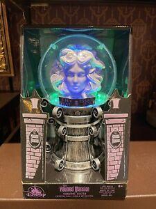 Disney Parks Haunted Mansion Madame Leota Crystal Ball Light Up With Fog NIB