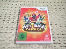 Power Rangers Samurai für Nintendo Wii und Wii U *OVP*