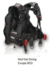 Red Hat Diving. Escape wing. Medium  weight integrated BCD, new