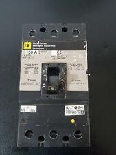 "Square D Kal36150 3 Pole 150 Amp 600V Gray Label Circuit Breaker """"""""K mgm"""""""" ;"