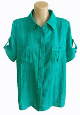Millers Check Short Sleeve Tops & Blouses for Women