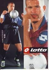 FOOTBALL carte joueur LUIGI DI BIAGIO équipe INTER DE MILAN