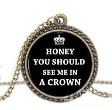Sherlock Holmes Pendant & Gift Box UK Seller - Necklace TV Series Honey New
