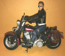 INDIANA JONES movie MUTT WILLIAMS figure + MOTOR CYCLE toy Indy 4 Shia LaBeouf
