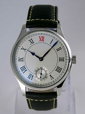 Montre MARINE Roman mecanique type 6498 swan neck Unitas deck watch Uhr NEUVE