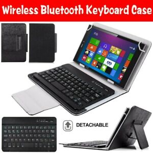 For Samsung Galaxy Tab 2 3 4 A E 7.0 inch Tablet Keyboard Case Folio Stand Cover