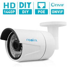 Reolink-410 IP kamera 2560x1440 4 MP 1440P POE Outdoor ONVIF plug and play Night