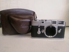 Leica  M3 35mm Rangefinder DBP Film Camera GMBH Body Only