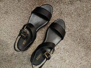 Michael Kors Wedge Sandals Size 8