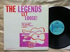 """THE LEGENDS """"LET LOOSE"""" MEGA RARE ORIGINAL FIRST PRESS ERMINE E-LP-101 MONO SURF"""