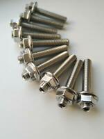 M6 EXHAUST ,INLET STUDS STAINLESS STEEL A4 316 VARIOUS SIZES ,