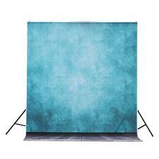 5ft x 10ft Blue Photography Studio Muslin Backdrop Photo Background Cloth # P2K4