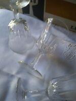 servizio 11 BICCHIERI vintage cristallo francese luminarc  in box mai usato