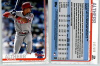 2019 Topps Series 2 AARON ALTHERR Advanced Stat /150 Parallel Phillies #534