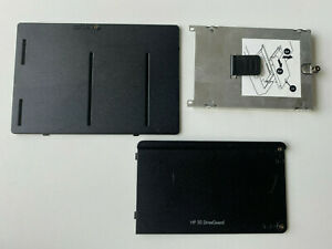 HP Elitebook 8740W laptop HDD and RAM Covers with HDD caddy