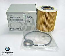 Genuine BMW Oil Filter Kit E81-E88, E46, E90-E93, E60/E61, X1,X3,X4 11427508969