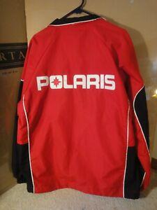 Vintage Polaris, Wild Hockey Snowmobile Racing Jacket, Winter Coat Size Med, M