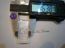 CsI 36*16*5mm scintillation crystal, radiation detector, gamma scintillator
