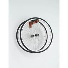Geared up Bicycle Wheel Storage racks to display two wheels