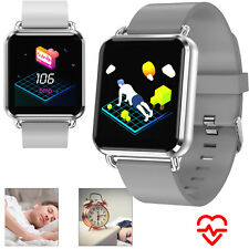 Bluetooth Smart Watch Wristwatch Heart Rate Monitor For Samsung Note 9 8 iPhone