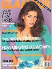 GLAMOUR Magazine October 1997 YAMILA DIAZ-RAHI Cover Model
