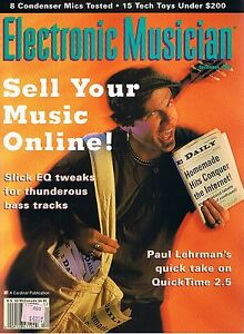 QUASIMIDI QUASAR, 8 CONDENSER MICS TESTED, 1996 Electronic Musician Magazine VG