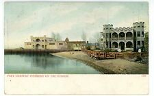 Piermont on Hudson River - FORT COMFORT INN & BEACH - Postcard