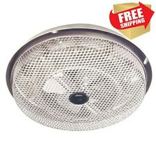 Broan Electric Wire Ceiling Surface Mount Bathroom Bath Fan Forced Space Heater